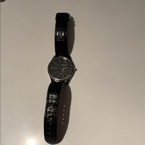 Stuhrling leather band watch